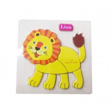 Puzzle Lemn Lion, 117BZ-3