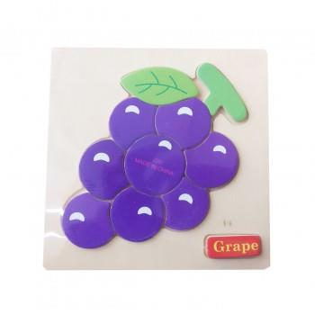 Puzzle Lemn Grape, 117BZ-1