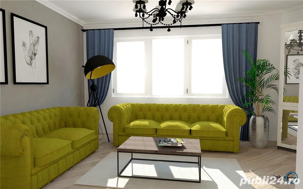 Apartament 3 camere cu Gradina - Titan Park - Metrou Nicolae Teclu