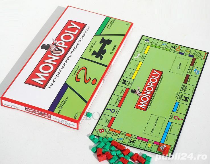 Monopoly in romana - cel mai faimos joc de tranzactii, Nou, joc monoply tranzactii imobiliare