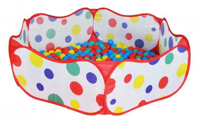 Vand Loc de joaca - Piscina pliabila cu 50 bile colorate pentru copii, NOU, Pret 85 Lei