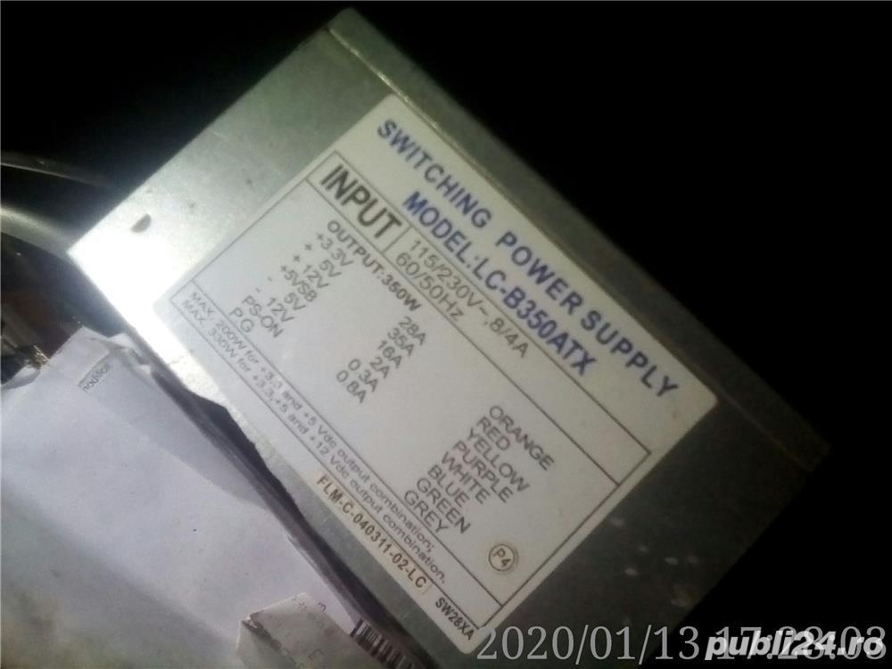 2 surse ATX 20 pin alimentare 350W