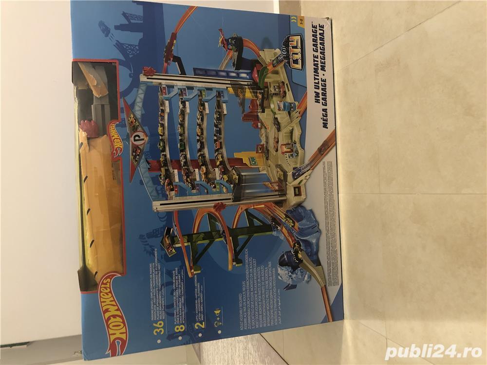 Set pista de joaca Mattel, Hot Wheels Ultimate Garage