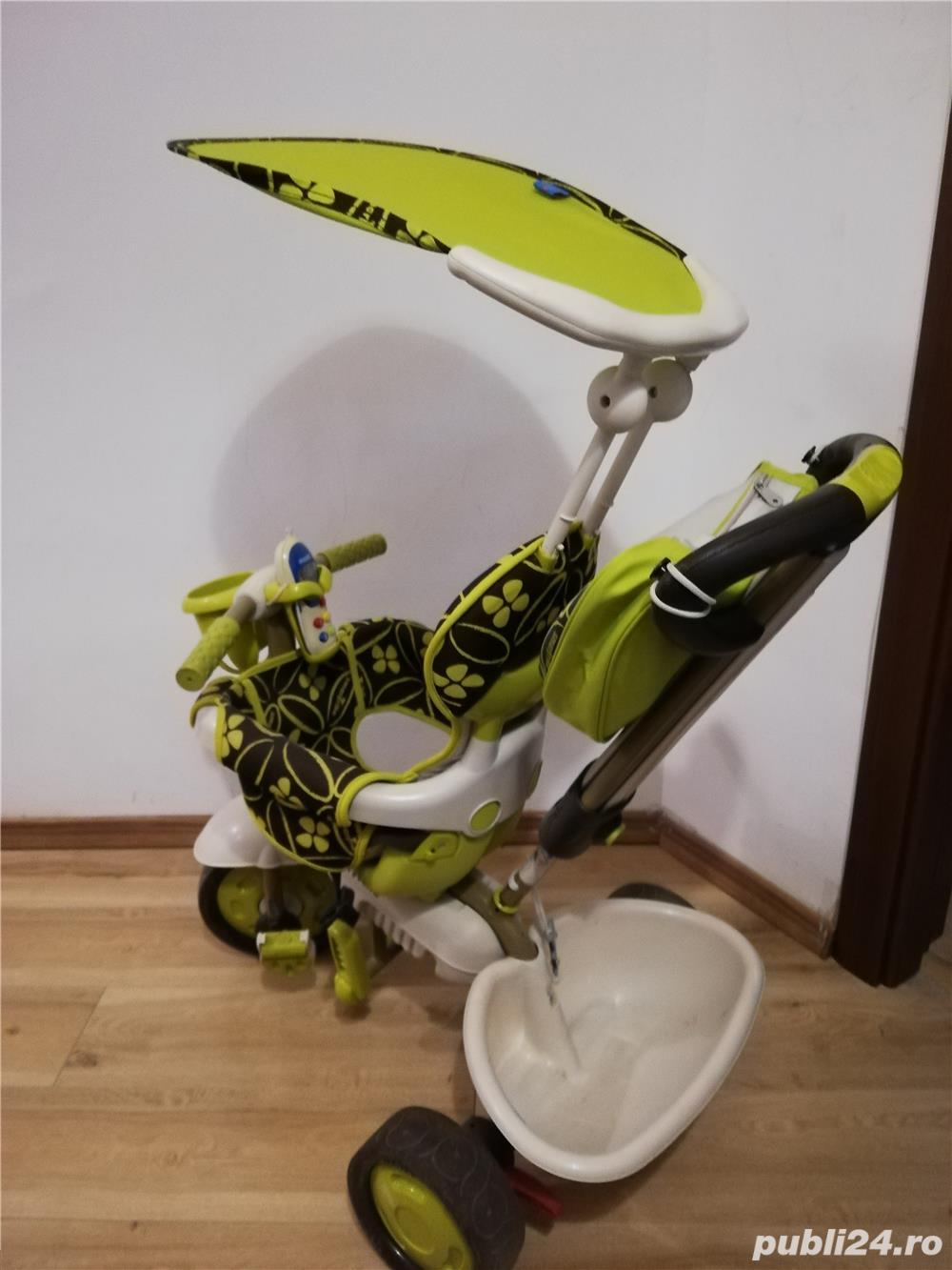 Vând tricicleta Smart Trike