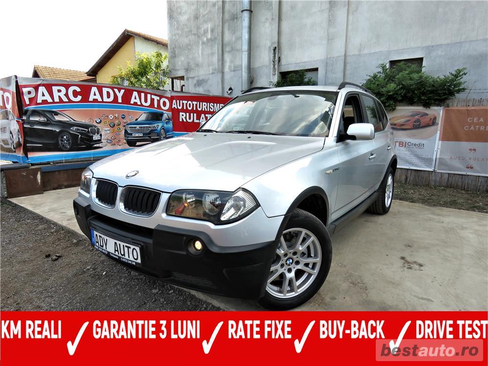 BMW X3 / 2.0 DIESEL -, CASH / RATE FIXE SI EGALE / LIVRARE GRATUITA  / GARANTIE / BUY-BACK