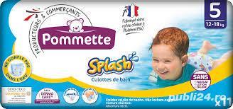 Scutece copii inot chilot Splash nr 5 12-18 kg Pommette 11 buc