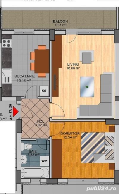 Apartament 2 camere - Direct Dezvoltator - Metrou Dimitrie Leonida
