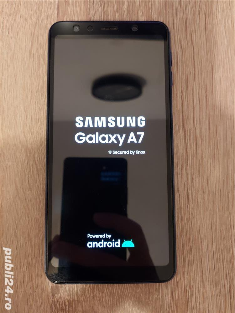 Samsung Galaxy A7 2018 Blue (duo) 64GB
