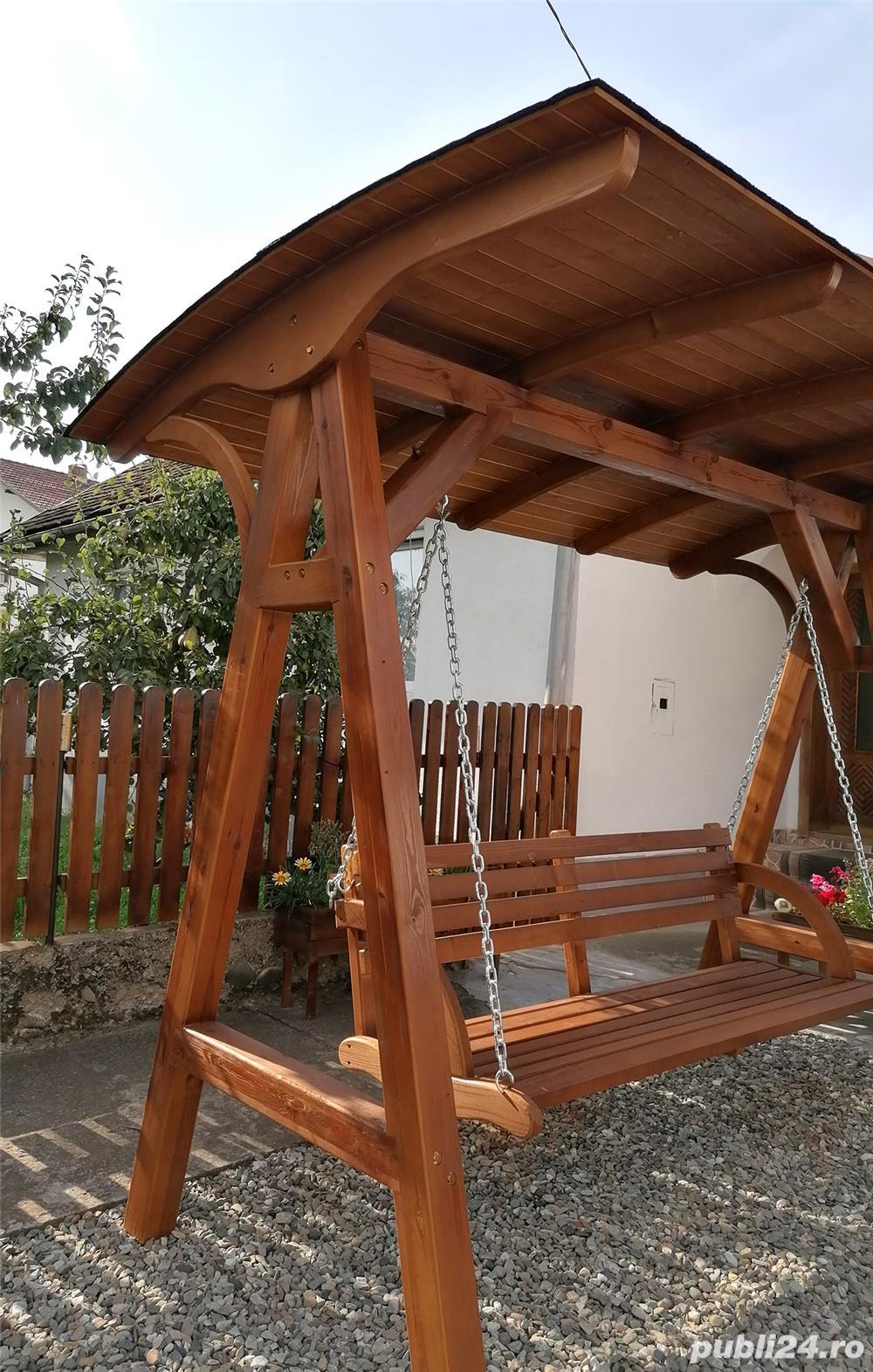 Balansoar Leagan Relax Din Lemn Stratificat Brasov Casa Si Gradina Publi24 Ro