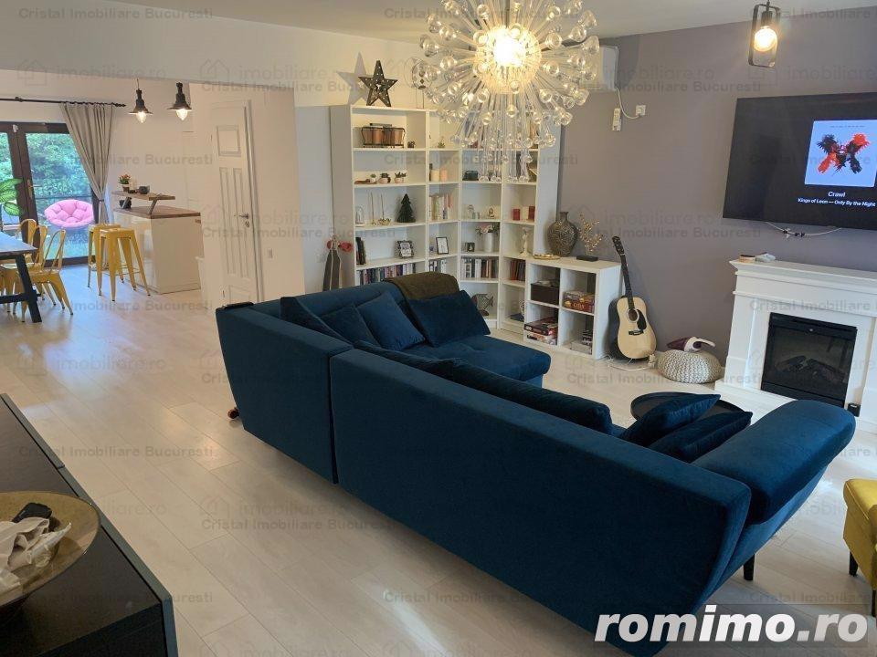 Apartament LUX 3 Camere cu Gradina Baneasa