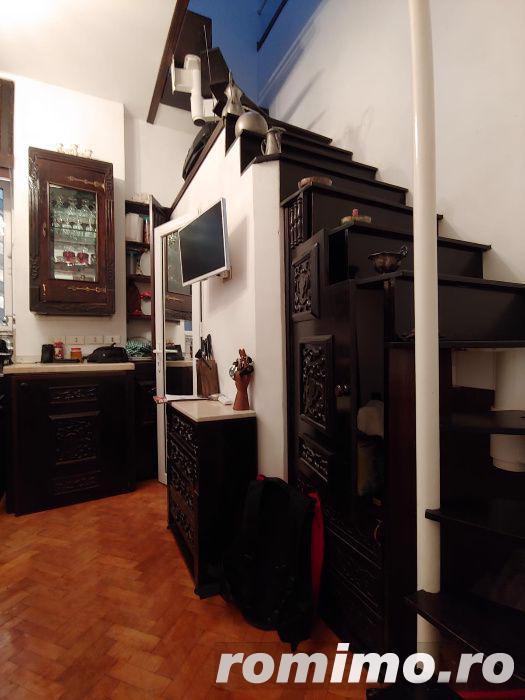 Garsoniera in vila tip duplex, pe 2 etaje, Cismigiu, 40mp, 300 euro