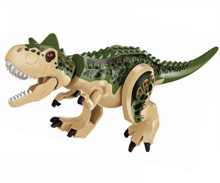 Dinozaur urias tip Lego de 30 cm: Camouflage Carnotaurus
