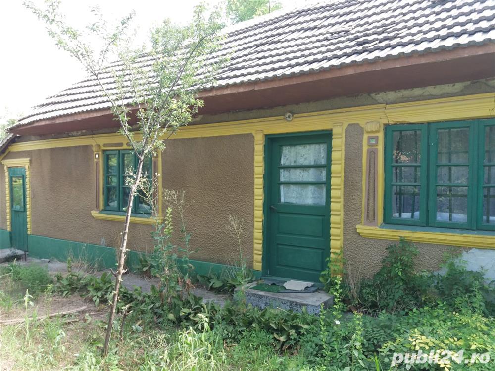 Teren cu casa traditionala dobrogeana in Plopeni jud Constanta