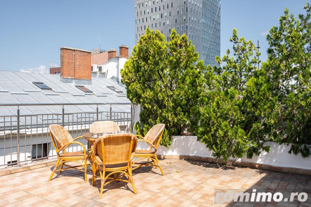 COMISION 0% - Dorobanti-Pta Romana - apartament triplex 290 mp, garaj, terasa