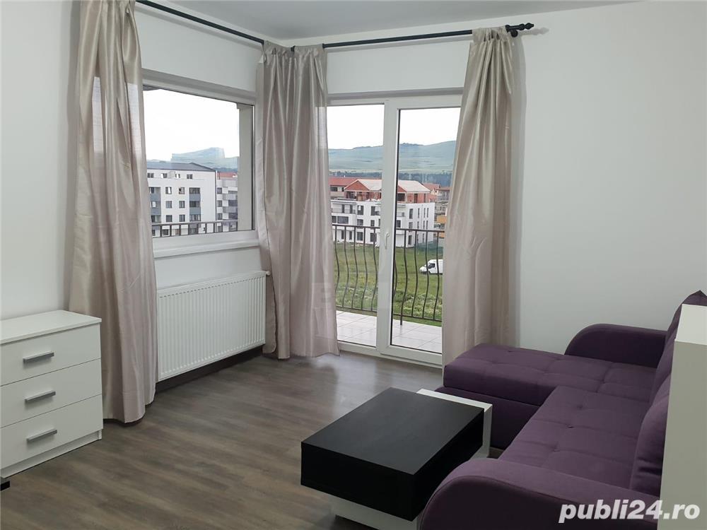 Apartament 2 camere, finisat,mobilat,utilat nou zona centrala Floresti