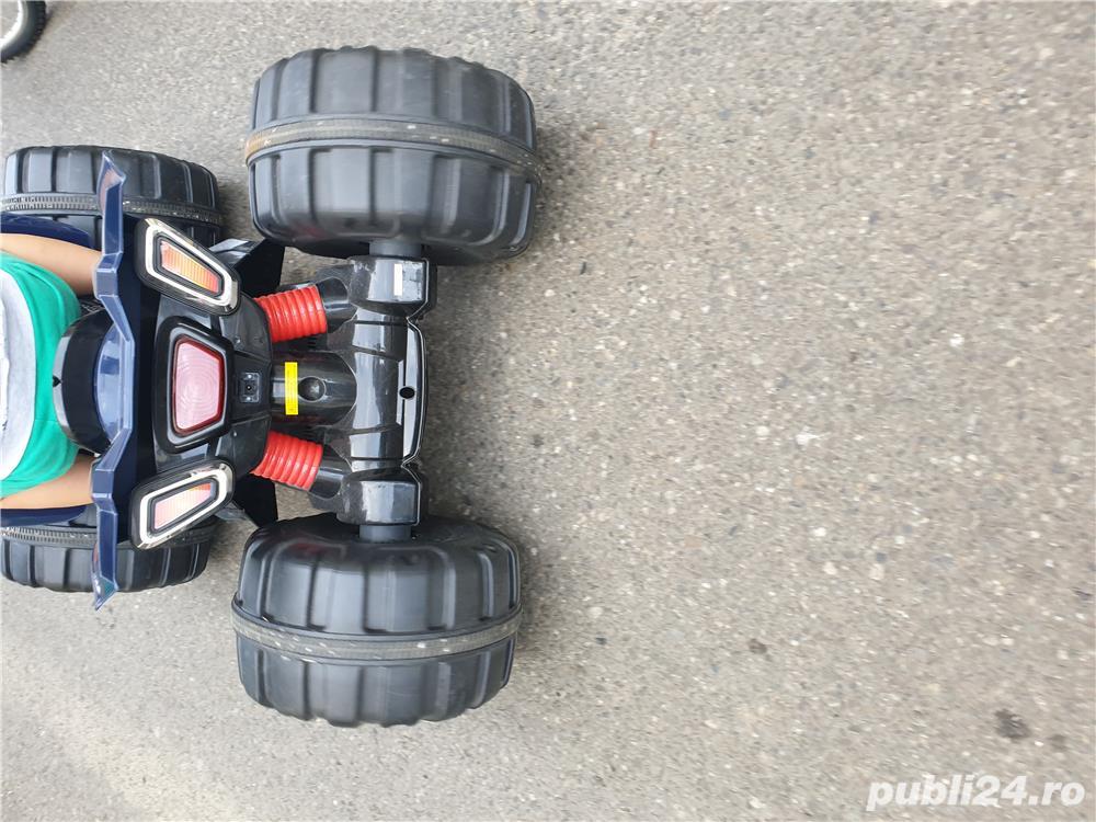 ATV Sport, 2 viteze,12v14ah, foarte calitativ,adus din Anglia, max 40kg