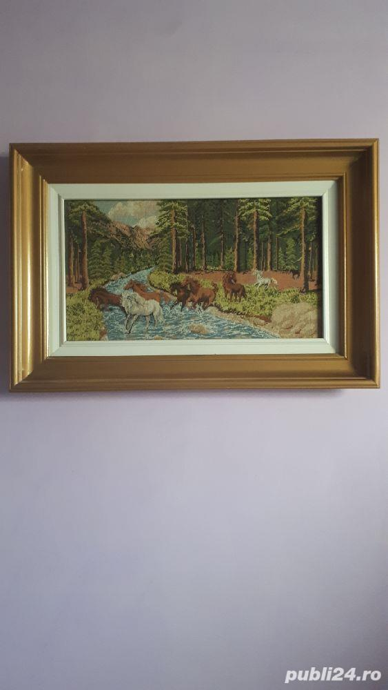 vand tablou goblen înrămat