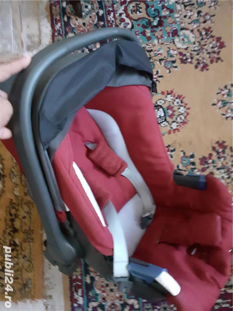 scaun auto pentru bebe INGLESINA semi-univ si leagan copii Baby Swing Fisher Price Auto Rock'n'Play