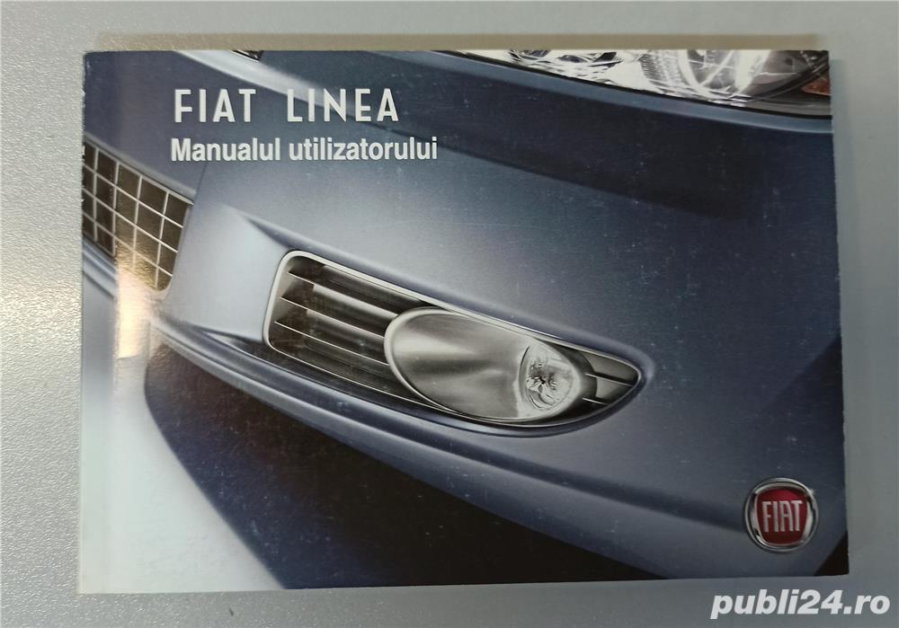 Manual utilizare Fiat Linea 2011 in limba romana