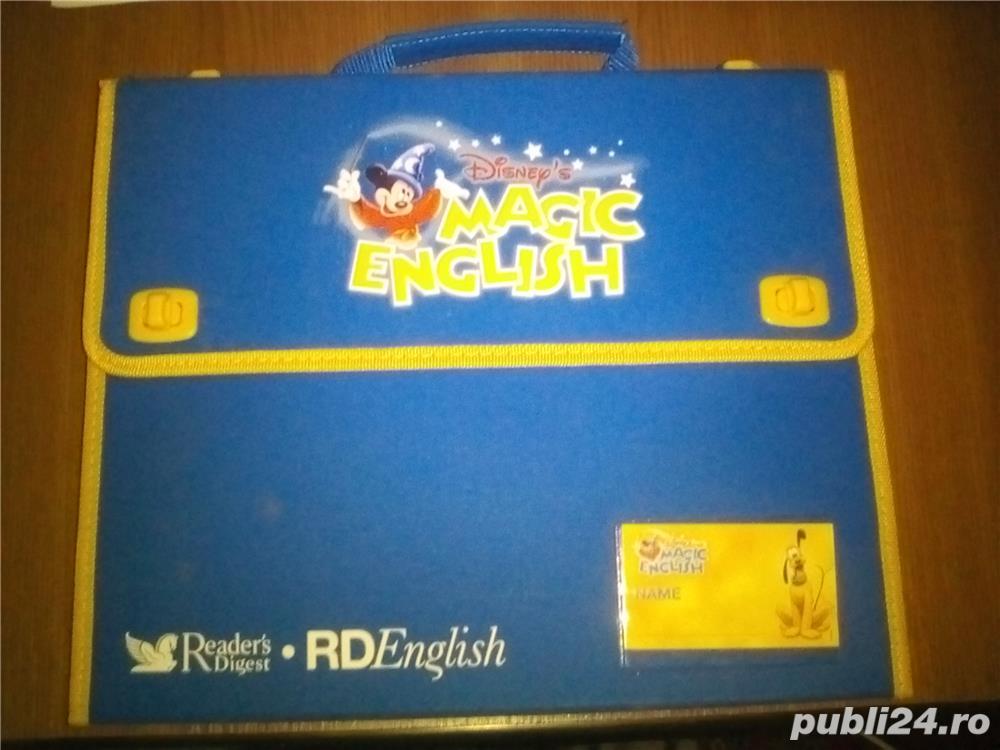Geanta Disney's Magic English - Invata engleza