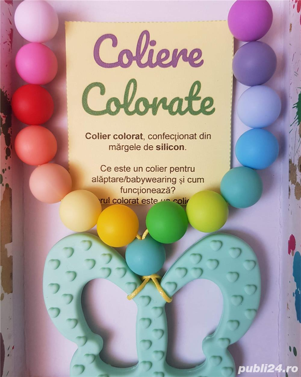 Colier alaptare / babywearing / dentitie