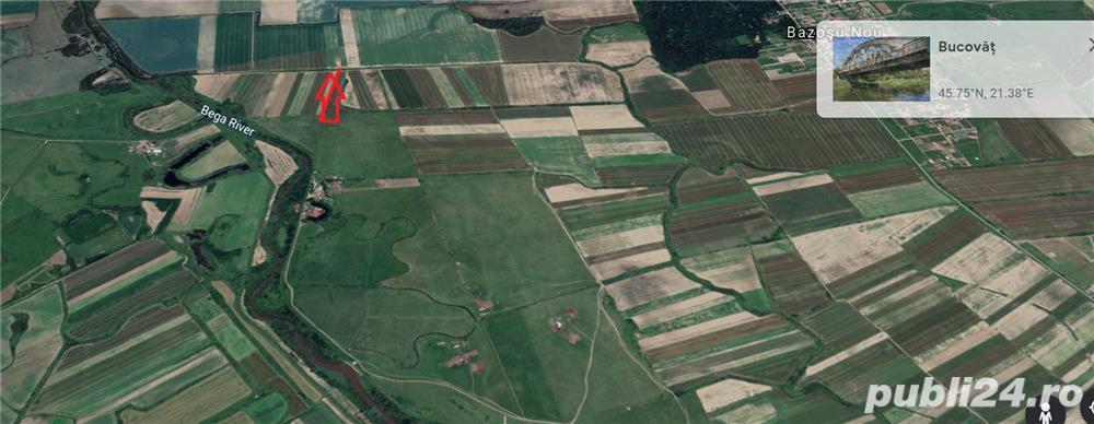Vand teren 2 ha langa pensiunea Zetas Bucovat