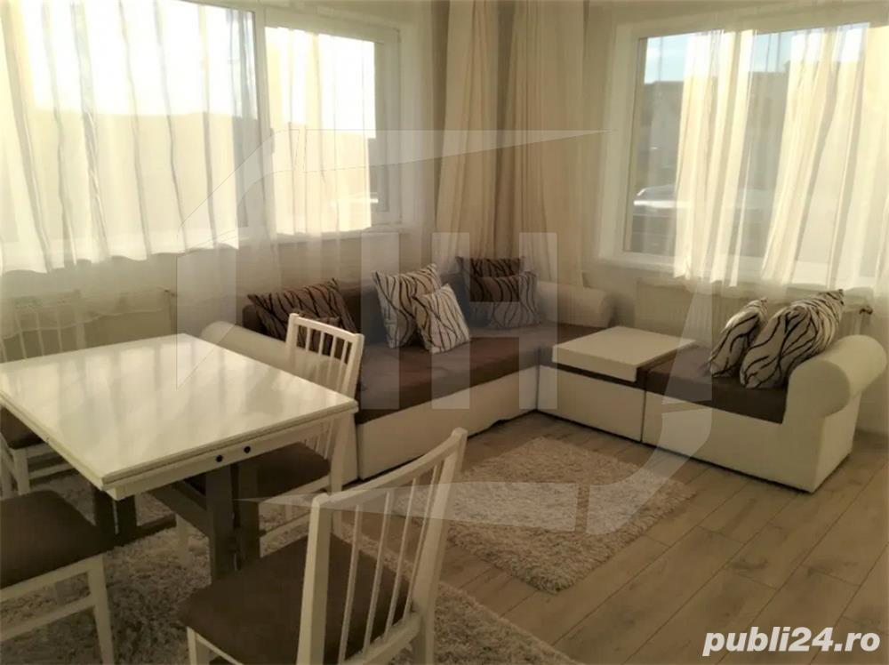 Apartament 2 camere, decomandat, 55 mp, etaj intermediar, zona Petrom Baciu