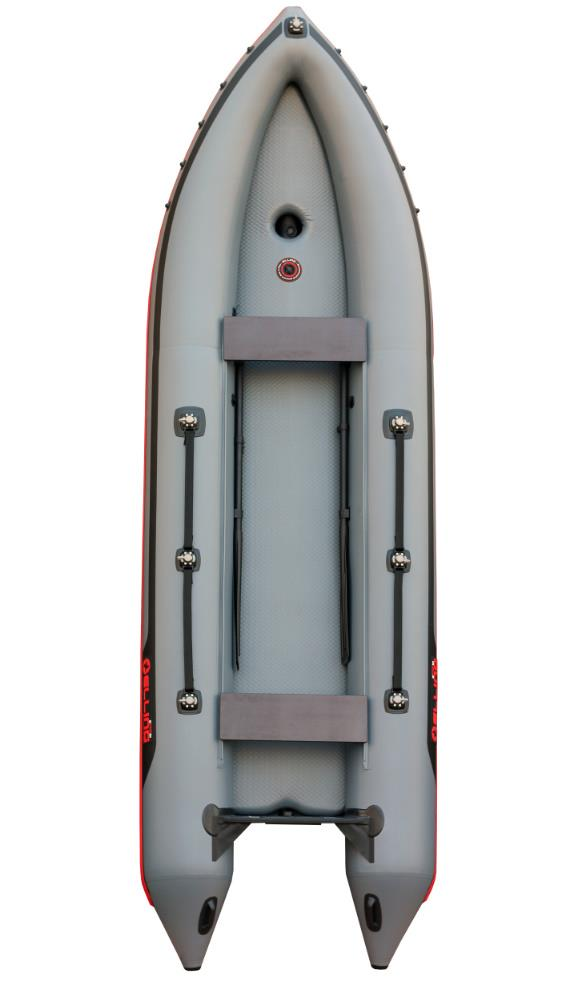 Barca pneumatica rapida - presiune+