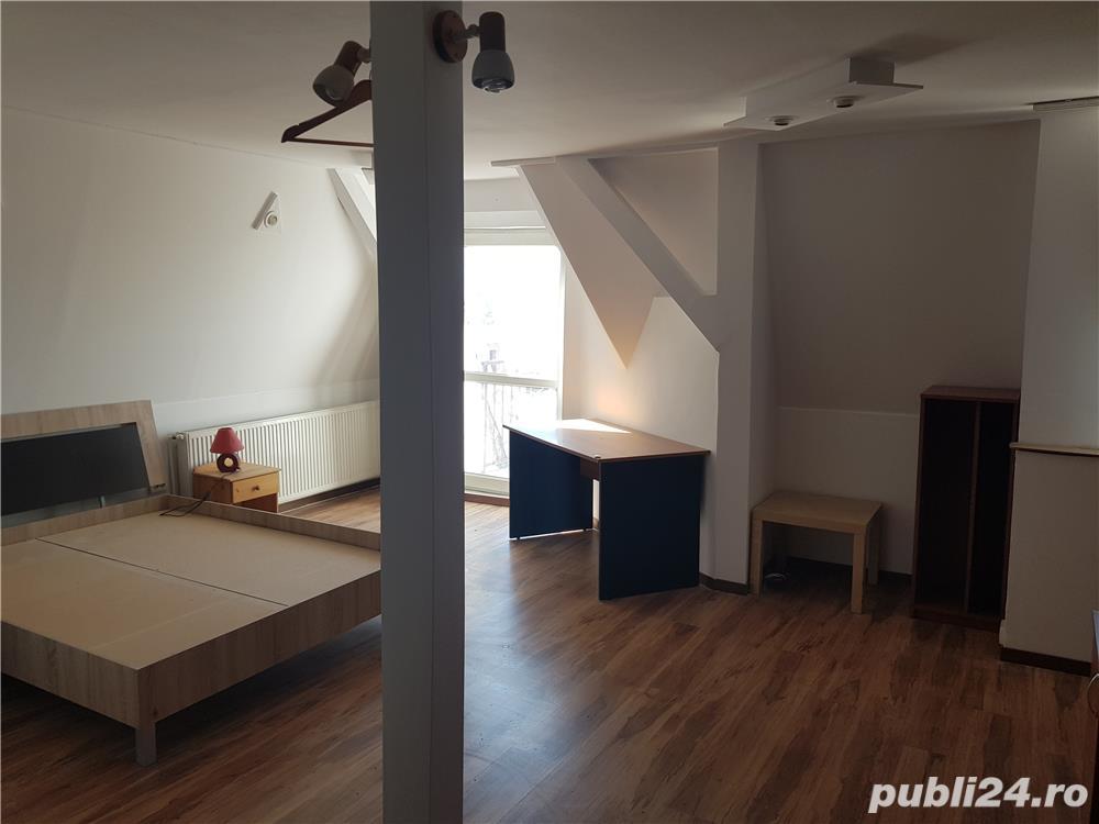 Apartament cu 1 camera, decomandat, centrala proprie, garaj, zona Centrală  - 200 Euro