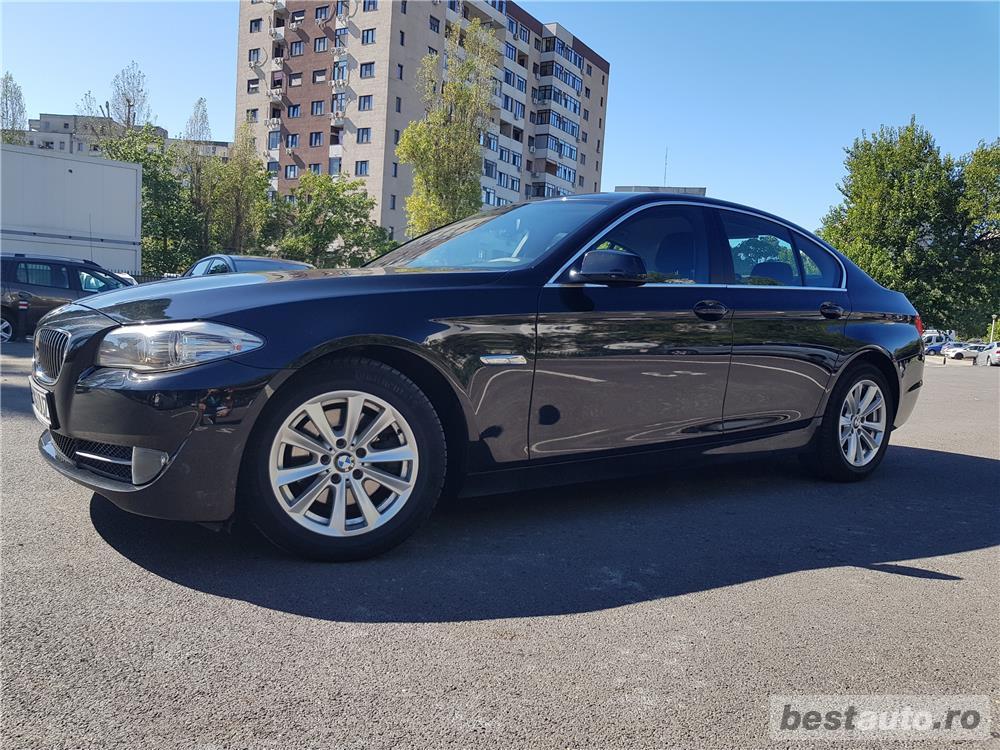 Bmw Seria 5 520, an 2011, EURO 5, unic proprietar, istoric BMW Automobile Bavaria