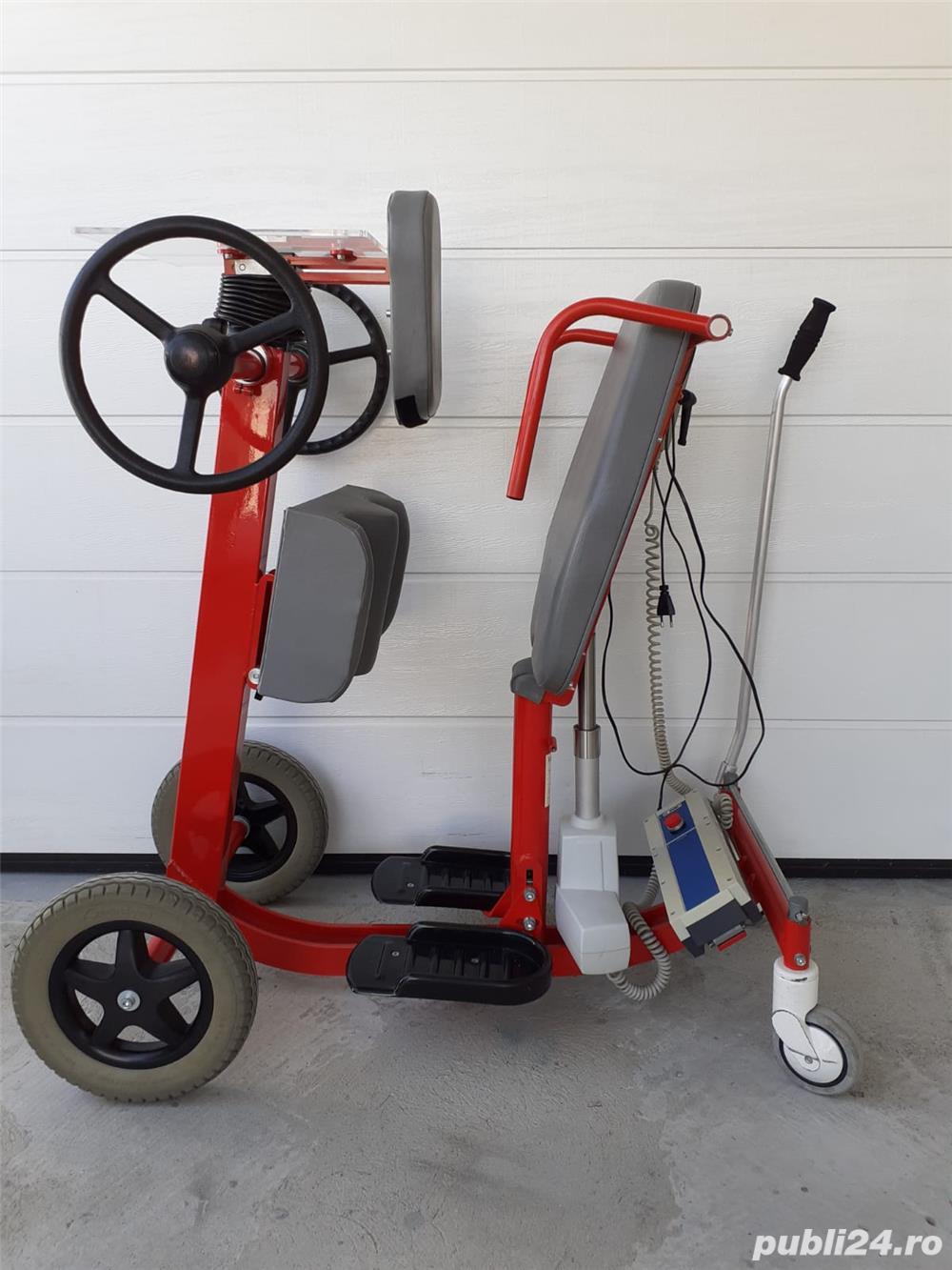 Verticalizator mobil Vitaline – 120 kg – (Standy mobil) – second-hand (folosit)