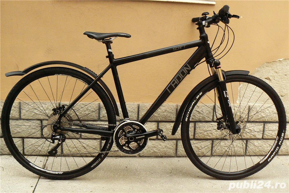 Bicicleta cross/mtb Radon cu roti de 28
