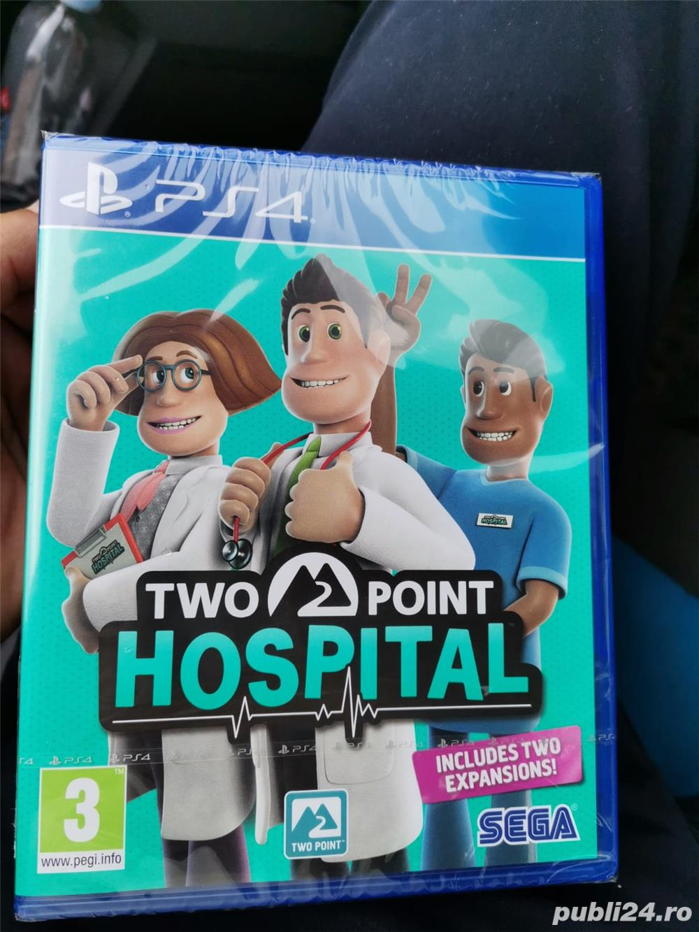 Two Point Hospital Ps4 sigilat