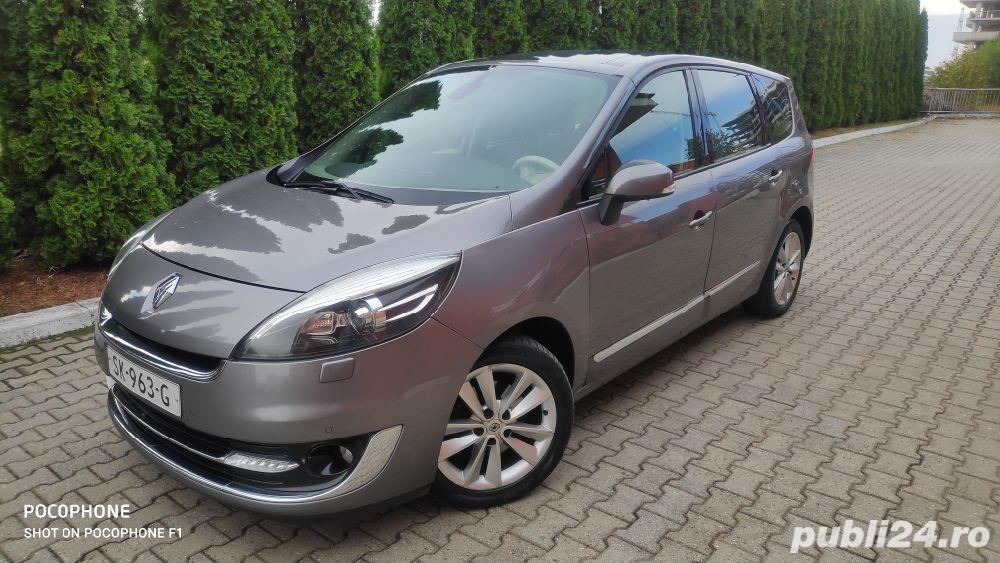Renault Grand Scenic 1.6 dci/131cp/panorama/piele
