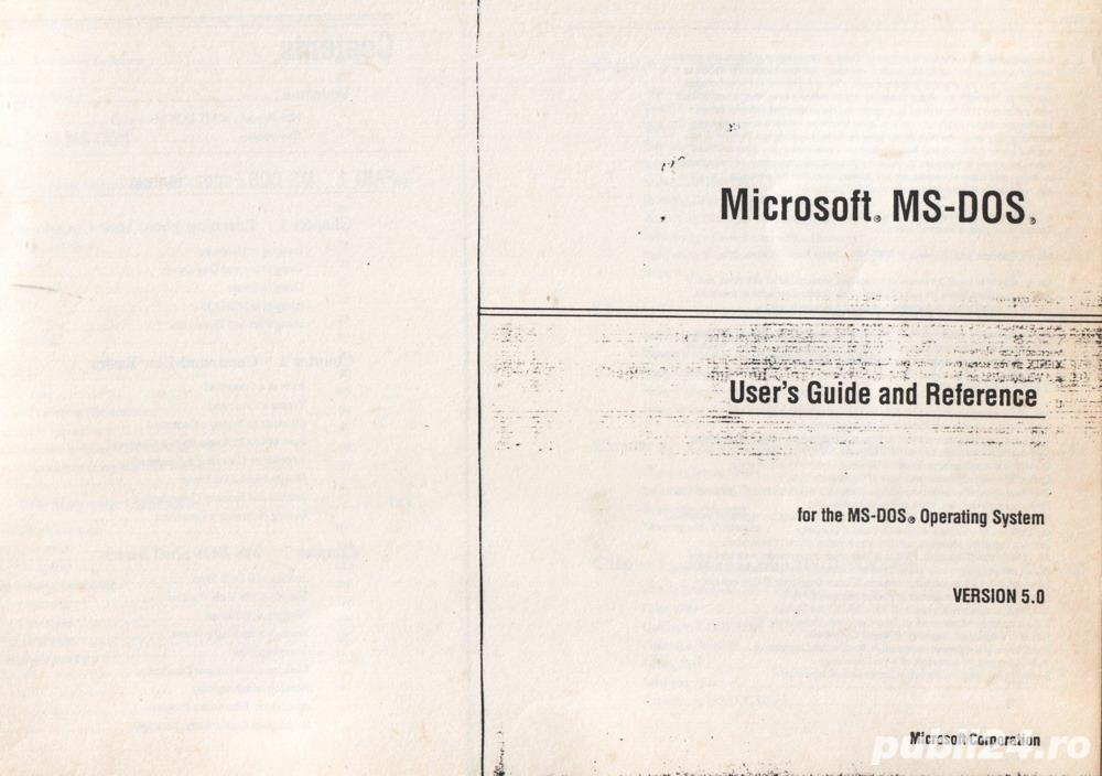 MS-DOS 5.0 - Getting started; User's guide & reference (2 vol.)