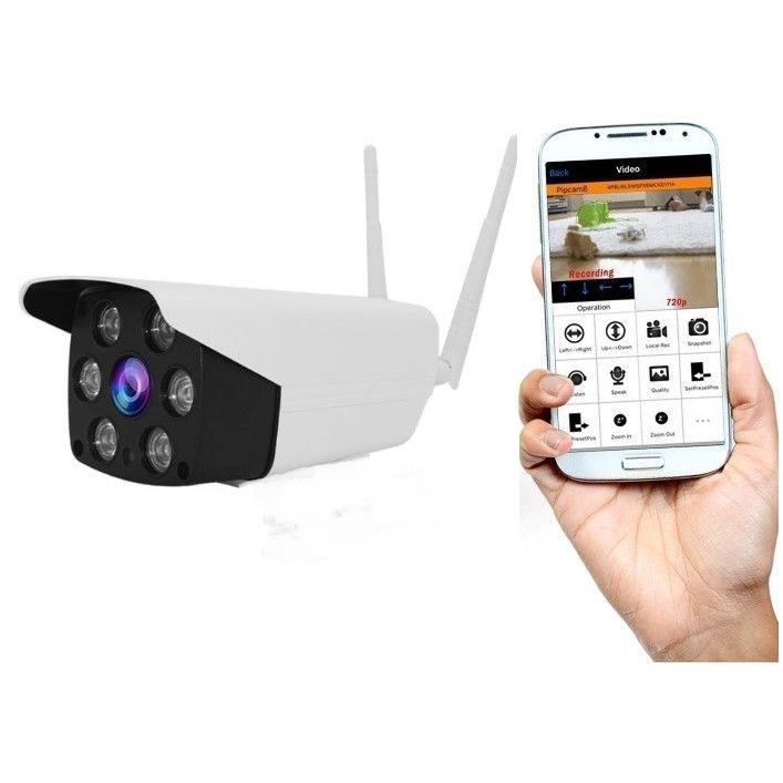 Camera Exterior cu IP Wireless ,Microfon/Difuzor ,Night Vision,,Card