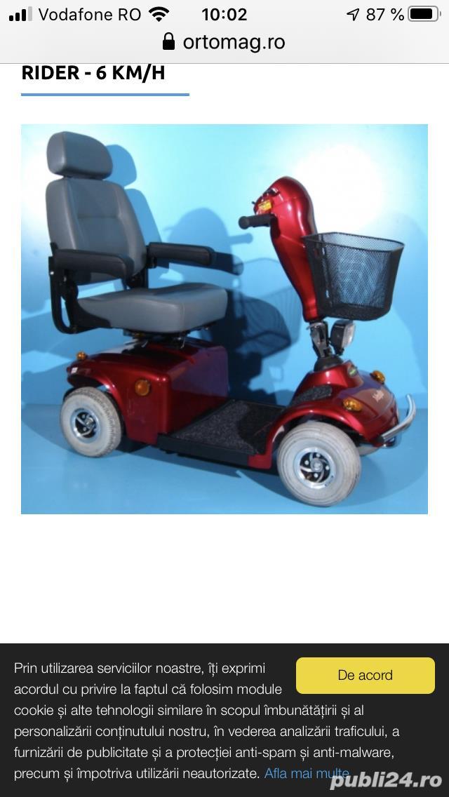 Scuter electric persoana cu handicap