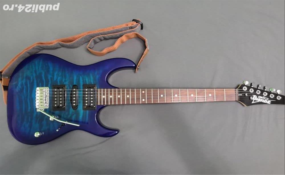 Chitara electrica Ibanez GRX70QA-TBB. Marshall MG15GR - Amplificator Chitara 15W