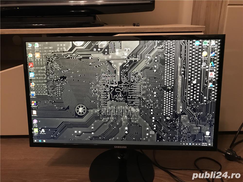"Monitor LED Samsung 23.5"" (24"") FullHD 1080p S24F350F"
