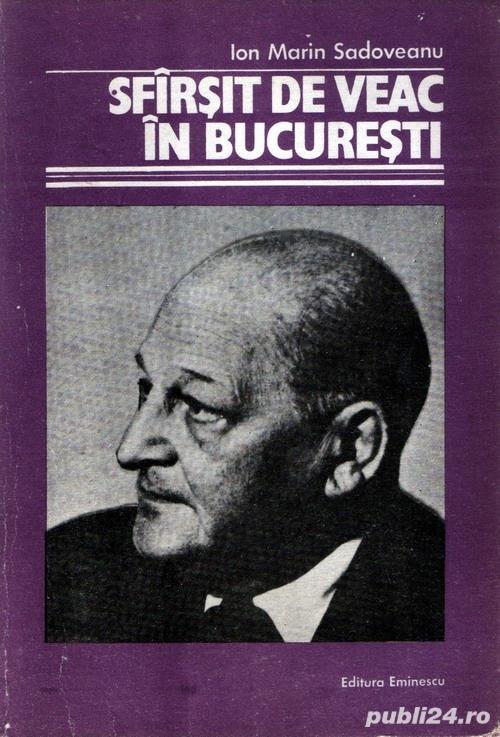 Sfârşit de veac în Bucureşti de Ion Marin Sadoveanu