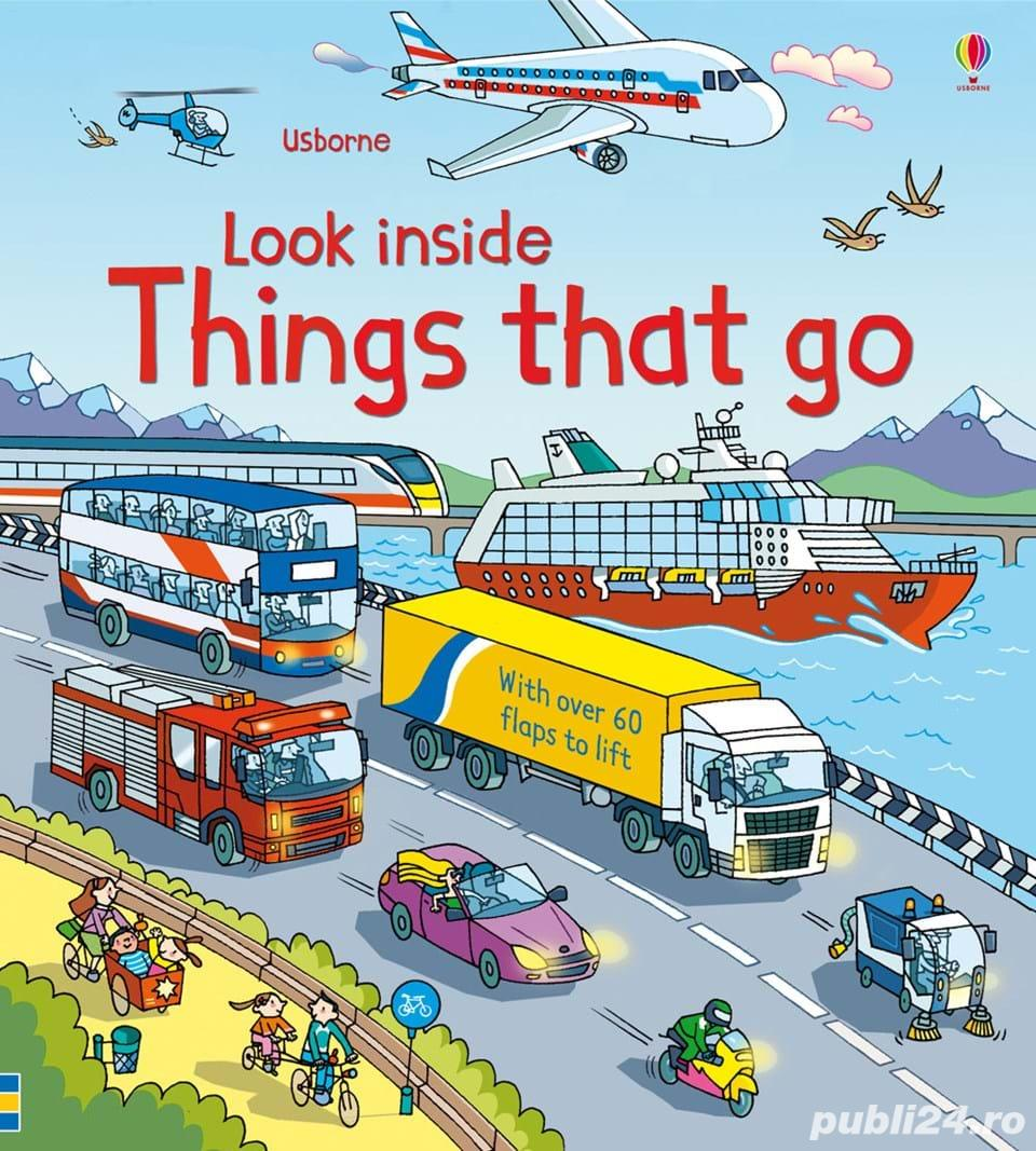 Look Inside Things That Go - Usborne