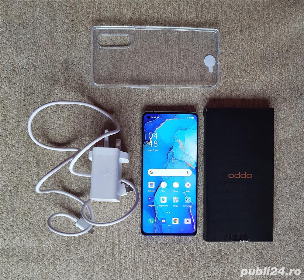 Telefon Oppo Find X2 Neo, camera 48 Mpx, 256GB, 12GB RAM, 5G, Blue NOu