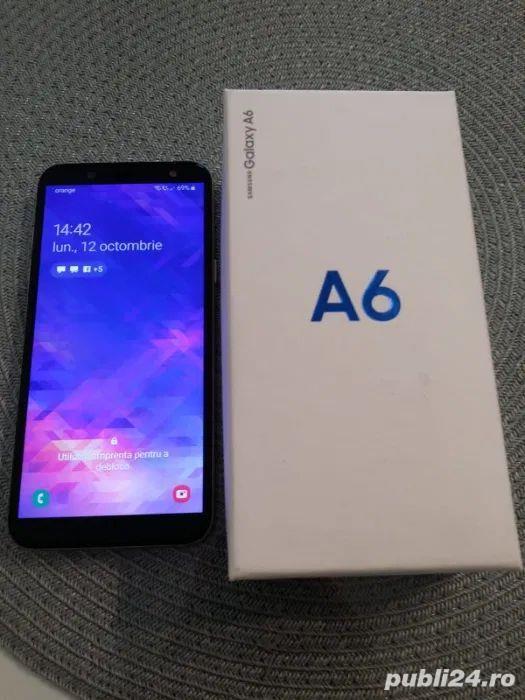 Samsung Galaxy A6 2018 Gold 32Gb Dual Sim cu factura si garantie