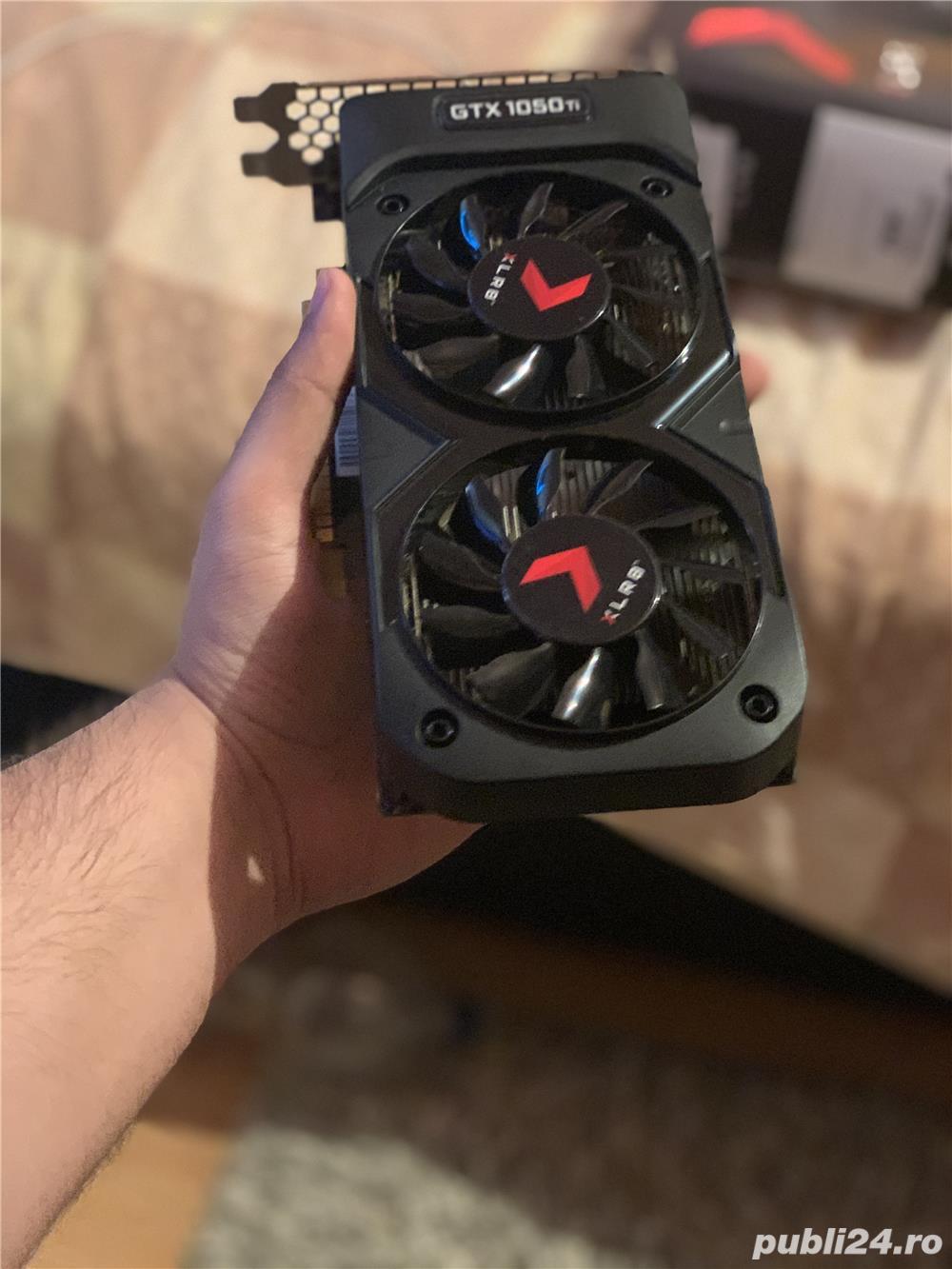 Placa Video Nvidia GTX 1050 TI OC