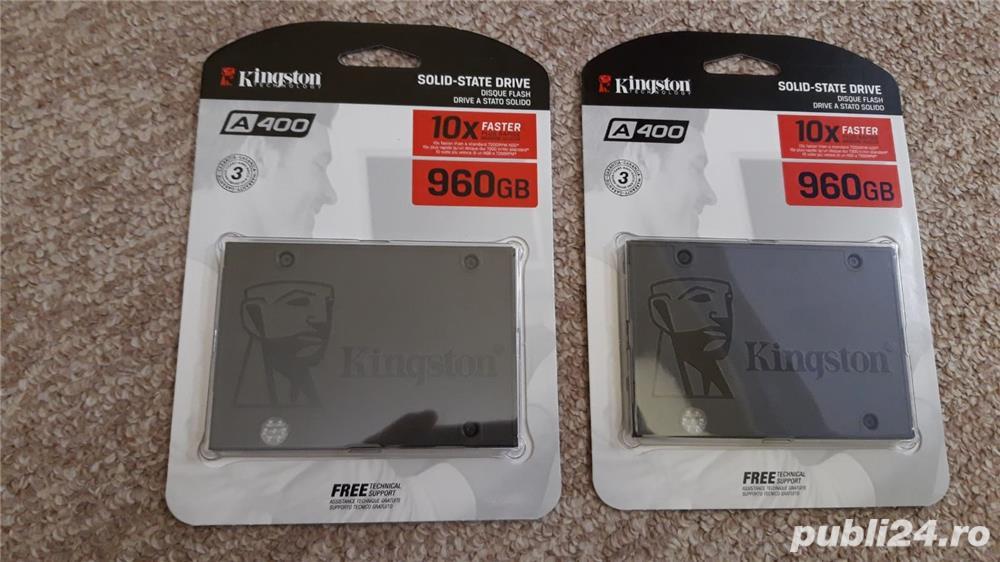 Gaming SSD Kingston A400 960GB SATA-III  (1 tb) –nou, sigilat