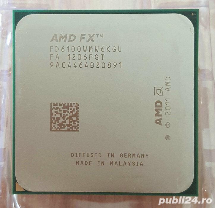 Procesor AMD FX X6 6100, 3.3 GHz, 14MB, socket AM3+,