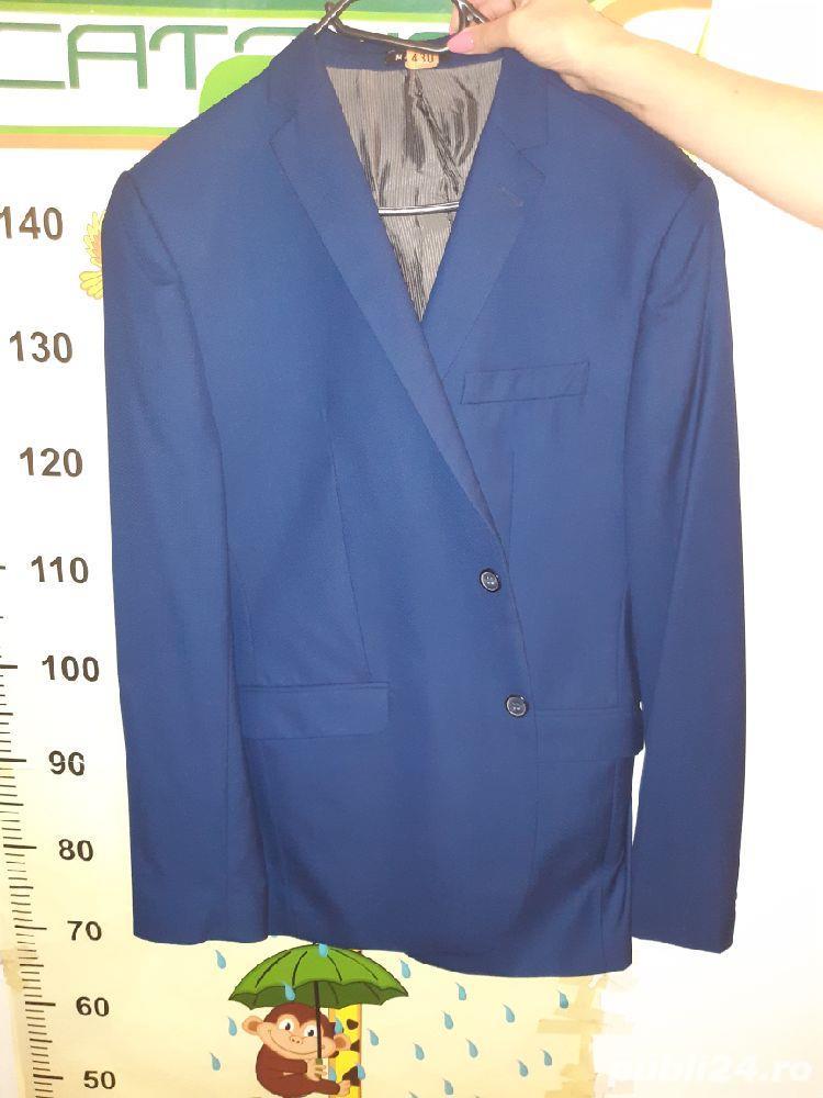 Costum barbat albastru