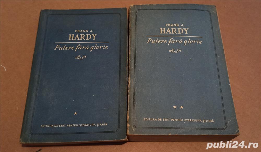 Frank J. Hardy - Putere fara glorie