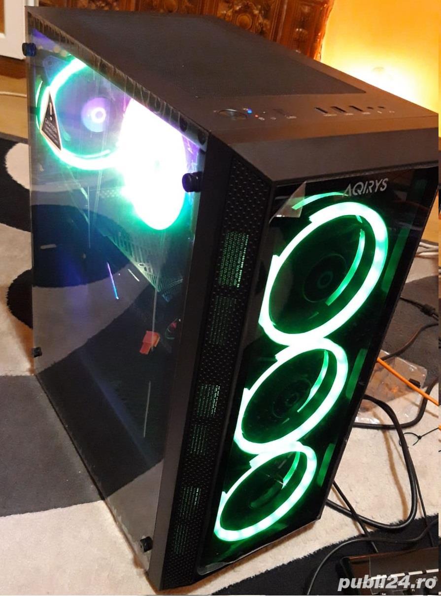 Sistem Gaming cu i7 6700, gtx 1060 de 3 gb , gtx 1650 –nou