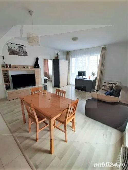 Apartament 2 camere, finisat si mobilat, parcare subterana, complex Iris Residence